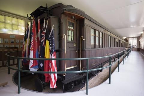 •Wagon du Mémorial de la Clairière de l'Armistice © Grégory Gérault