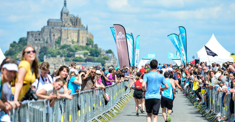 Run Mont-Saint-Michel
